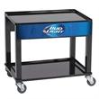 Cooler Stand - Rolling cart for a 54 quart steel cooler.