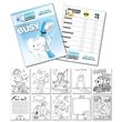 Activity Coloring Book - 8.5x11 - (12-Page Dentist) - Activity Coloring Book - 8.5x11 - (12-Page Dentist)