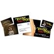 Laminated Postcard with Detachable Horizontal Business Card - Laminated Postcard with Detachable Horizontal Business Card