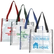 Matterhorn Clear PVC Stadium Tote Bag (NFL Compliant) - Clear PVC Stadium Tote Bag.