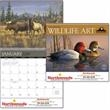 Wildlife Art by the Hautman Brothers - Calendar