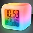 Light up alarm clock