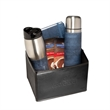 Casablanca™ Thermos, Tumbler & Journal Gift Set - Gift set includes thermos, tumbler, journal, folding bin and two packets of hot cocoa mix.