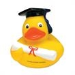 Graduate Rubber Duck - Rubber duck in graduate robes and mortarboard.