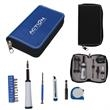 Zip Executive Tool Kit - 15-piece tool kit in a nylon gauge zippered case.