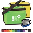 6 Pack Non-woven Cooler - Non-woven insulated six-pack cooler