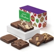 Christmas Half Dozen - Express your Christmas wishes with 6 enchanting flavors of full-sized brownies.