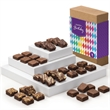 Birthday Morsel 36 - Brownies, 6 each of six different flavors in a gift box with festive gift band