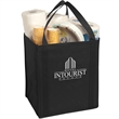 Large Non-Woven Grocery Tote - Large non-woven grocery tote constructed of 80 gsm non-woven polypropylene.