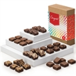 Congratulations Morsel 36 - Three dozen bite-sized brownies in gift box with congratulations gift band.