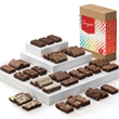 Congratulations Sprite 36 - Three dozen snack size brownies in gift box with congratulations gift band.