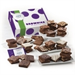Custom Giant Brownie 48 - 48 brownies in a gift box with your full-color logo on the hang tag.