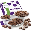 Custom Gian Morsel 96 - Assortment of 96 bite-sized brownies in gift box with your logo or photo on the hang tag.