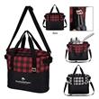 Northwoods Cooler Bag - Polyester cooler bag with front pocket, adjustable shoulder strap, web carry handles, insulated main compartment and more.