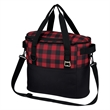 Northwoods Cooler Bag - Polyester cooler bag with front pocket, adjustable shoulder strap, web carry handles, insulated main compartment and more.