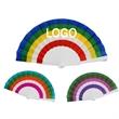 Folding Hand Fan, Plastic Fan, Cloth Hand Fan