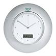 Horlomur Series Wall Clock - Horlomur series wall clock with analog clock display and digital date display.