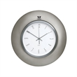 Horlomur Series Wall Clock - Horlomur series wall clock with analog clock display, pewter color, and black dial.