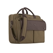 """Solo® Rucker Briefcase - 5.5"""" x 11.5"""" x 15"""" briefcase with 15.6"""" laptop pocket and interior pocket for tablets; includes removable/adjustable strap."""