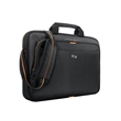 "Solo® Ace Slim Brief - 3"" x 11.5"" x 16"" Solo Ace slim brief; includes padded pocket for laptops up to 15.6"" and tablet/eReader pocket."