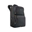 """Solo® Thrive Backpack - 7"""" x 17.5"""" x 11.75"""" leatherette backpack; includes tablet/eReader pocket and compartment for laptops 17.3"""" or smaller."""