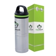 iCOOL Odin 20 oz. Stainless Steel Vacuum Water Bottle & P... - iCOOL Odin 20 oz. Stainless Steel Vacuum Water Bottle & P...