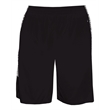 Badger Blend Panel Youth Shorts - Polyester youth shorts with side inserts