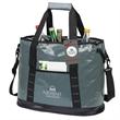 "Glacier Cooler Bag & Hangtag - Cooler bag with hangtag; with removable/adjustable 1 1/2"" x 47"" padded shoulder strap with swivel clips."