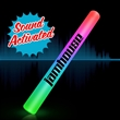 Sound Activated Light Up Multicolor LED Cheer Stick - Blank or imprinted. Sound Activated Light Up Multicolor LED Flashing Cheer Sticks.