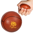 Basketball Super Squish Stress Reliever - Basketball super soft and squishy stress reliever.
