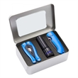 Safety Kit - Safety Kit includes 14 Function Multi Tool, Lock Back Knife and Multi Function Flashlight.