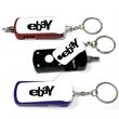 Flashlight screwdriver tool set keychain