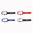 Carabiner with Bottle Opener and Metal Plate
