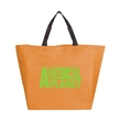 Non Woven Utility Tote - Made of durable 80 GSM non-woven that perfect for your next beach adventure or other needs.
