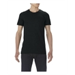 """Anvil Lightweight Long & Lean T-Shirt - Cotton T-shirt with semi-fitted side seam construction and a 2"""" drop tail."""