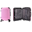 ABS 4 Wheel with Lock Carry On Luggage