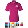 Gildan DryBlend® Adult Jersey Polo - Preshunk 50% Cotton/50% Polyester Jersey Knit, 6 oz. Adult Polo.