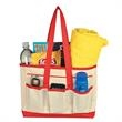 The Caddy Tote Bag - 600D polyester canvas tote bag