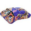 Vera Bradley Fleece Travel Blanket - We'll make sure you're comfy no matter the temperature in the airplane cabin. This generously-sized blanket folds down into a trav