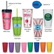 Tritan16 - Tritan16. Durable Tritan Material.  Impact And Shatter Resistant.  16 OZ. Double Wall Tumbler.  Made In The USA.  BPA Free.