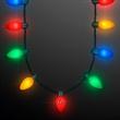 9 Lights Christmas Bulb Necklace
