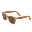 Woodland Sunglasses - Woodgrain sunglasses that feature dark, ultraviolet protective lenses with UV400 rating.