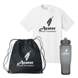 Port & Company® - Apparel Kit - Adult - Apparel kit with t-shirt, drawstring bag and water bottle