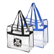 "20"" webbing handles NFL Approved Open Stadium Tote - 20"" webbing handles Clear Tote Bag NFL Stadium Approved"