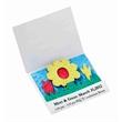 Seed Paper Matchbook - Wildflower scene, seed paper matchbook.