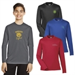 Team 365® Youth Zone Performance Long-Sleeve T-Shirt - Youth moisture wicking performance polyester long sleeve t-shirt .