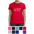 Hanes Ladies' Nano-T Cotton T-Shirt - 4.5 oz. ladies t-shirt made from 100% ring-spun cotton with a feminine fit