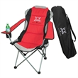 THREE POSITION ADJUSTABLE CHAIR IN A BAG - Polyester three position adjustable chair