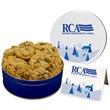Gourmet Oatmeal Raisin Cookies - Regular Tin - 20 Gourmet Oatmeal Raisin Cookies in a Regular Tin