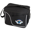 AMBER COOLER BAG - Cooler bag  Inside white PEVA liner. Zipper closure. Webbed shoulder strap.